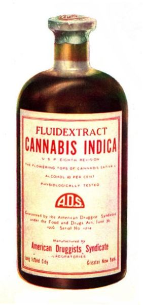 File:Drug bottle containing cannabis.jpg